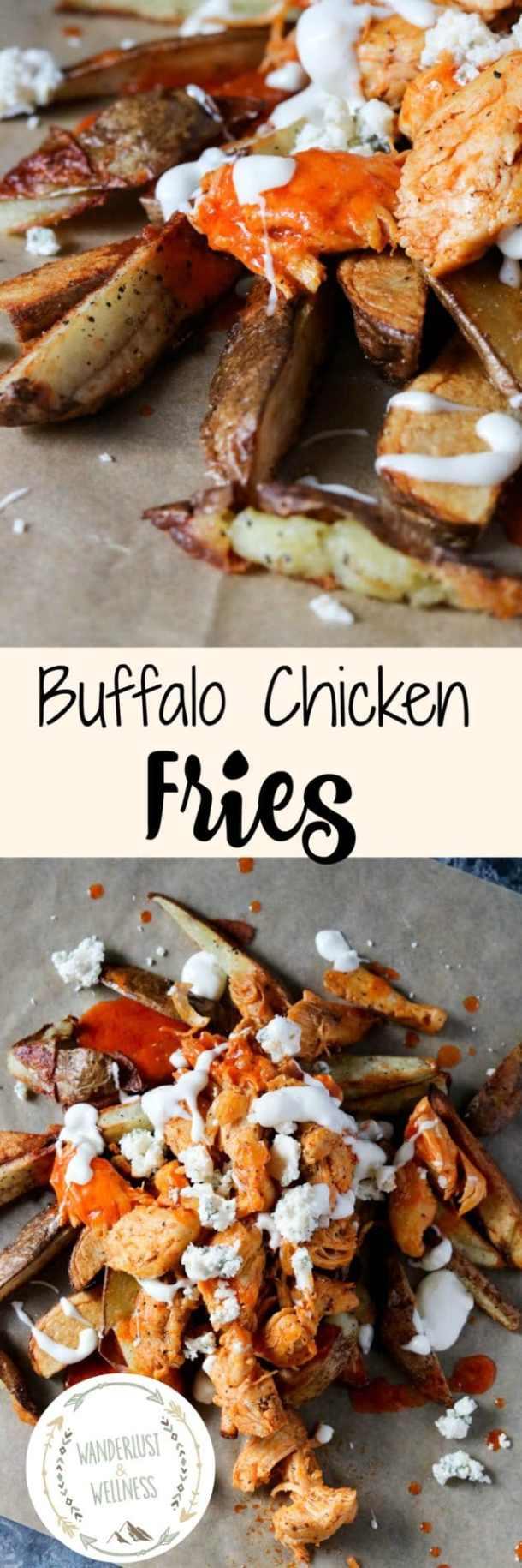Homemade Buffalo Chicken Fries