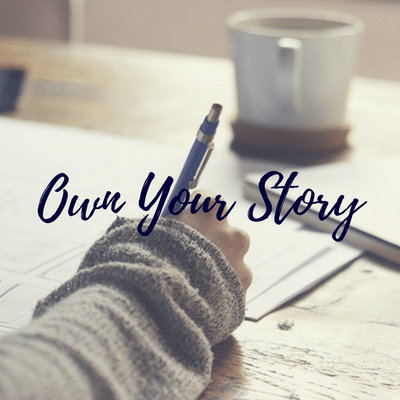 own your story course button