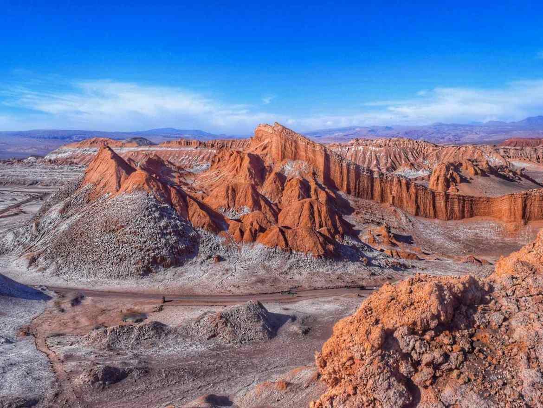 El Valle De La Luna, Atacama, Chile