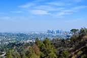 View from Hollywood, L.A.
