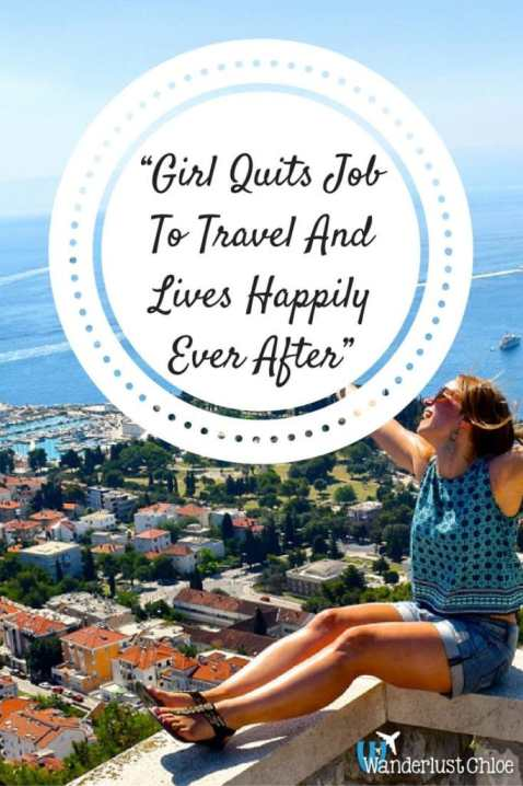 Girl Quits Job To Travel And Lives Happily Ever After