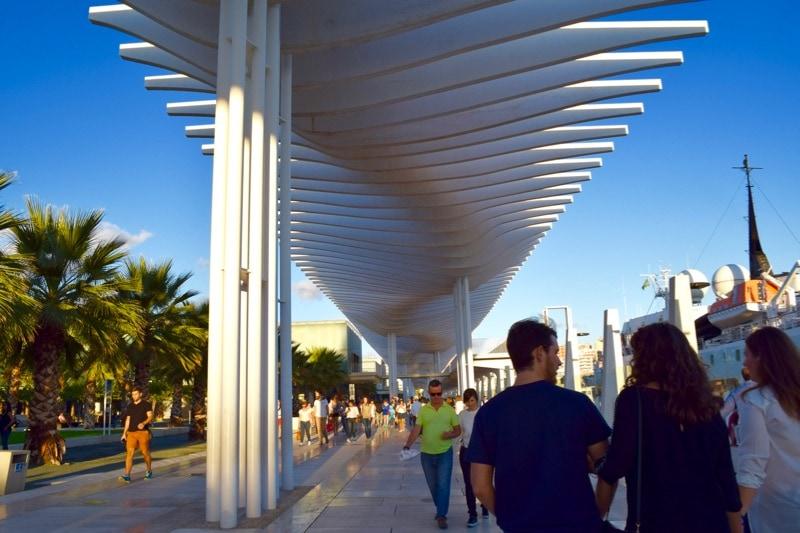 Cool modern architecture in Malaga