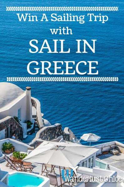 Win A Sailing Trip With Sail in Greece