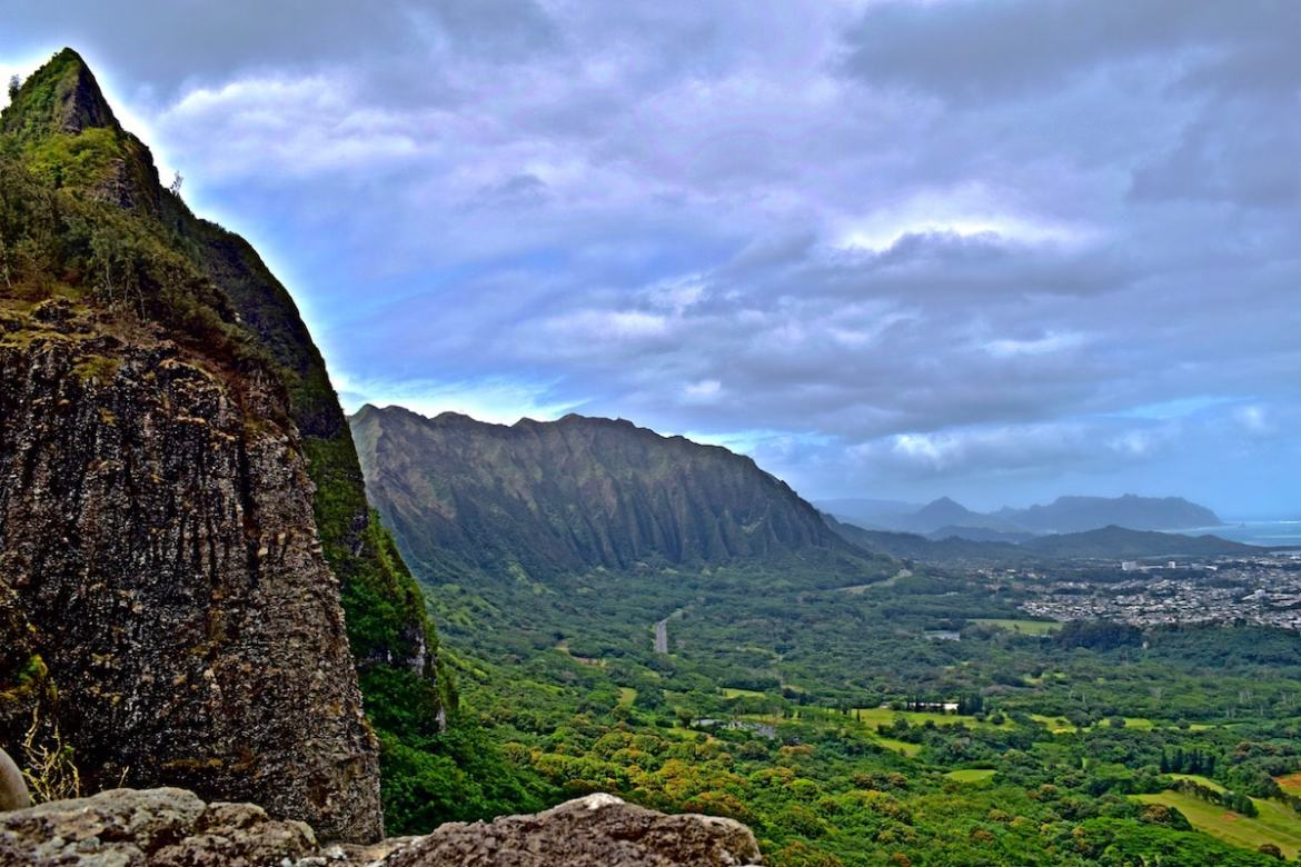 Jurassic Park landscapes in Hawaii