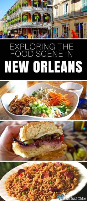 Exploring The Food Scene In The French Quarter, New Orleans