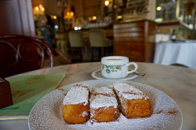 Picatostes at Cafe Royalty, Cadiz
