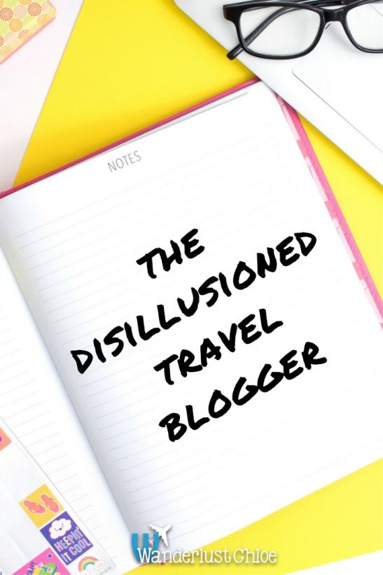 The Disillusioned Travel Blogger