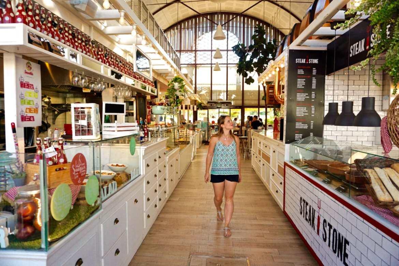 Mercado De Lonja Del Barranco, Seville