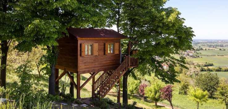 Case sull\'albero in Italia per un week end nella natura ...