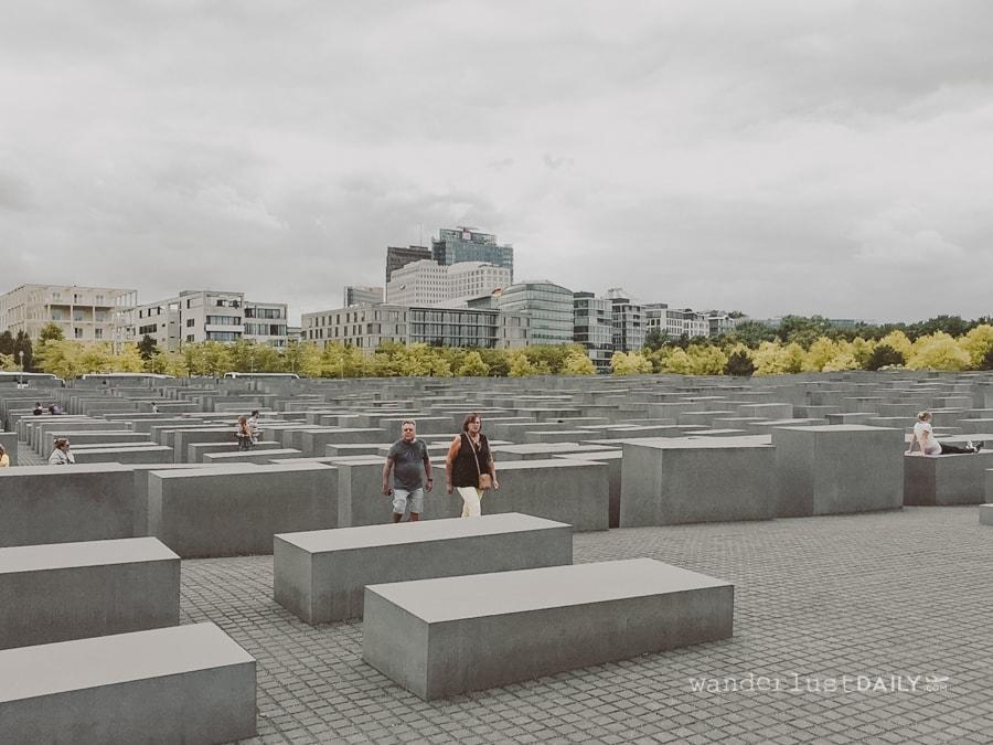 cosa fare a berlino in un giorno: memoriale dell'olocausto