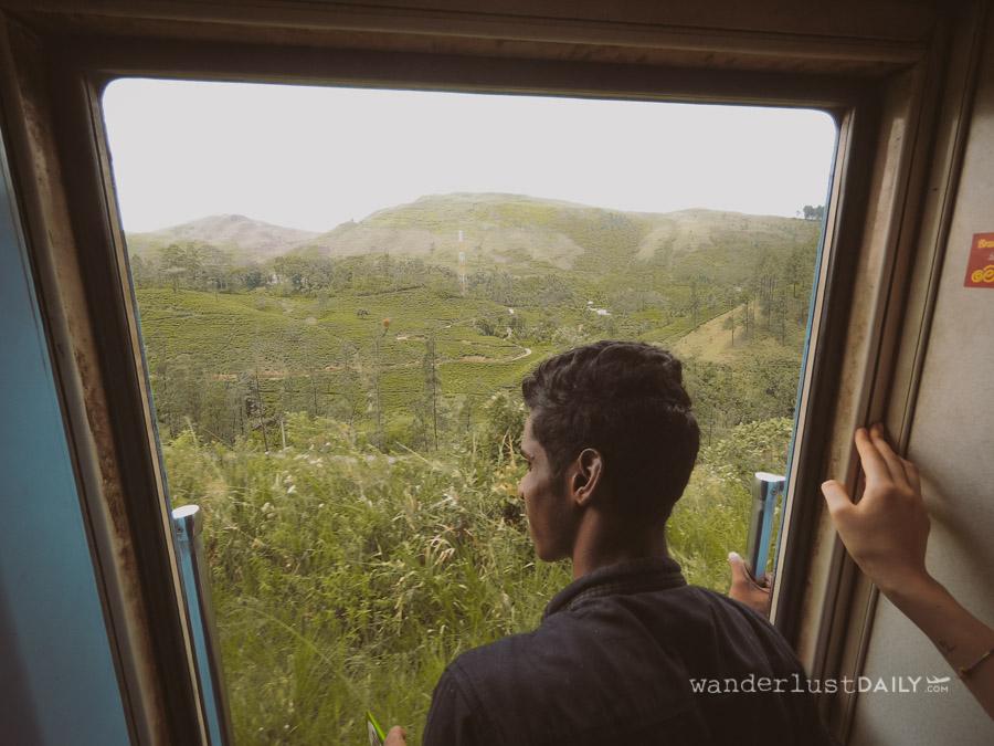 treno da kandy a nuwara eliya e ella