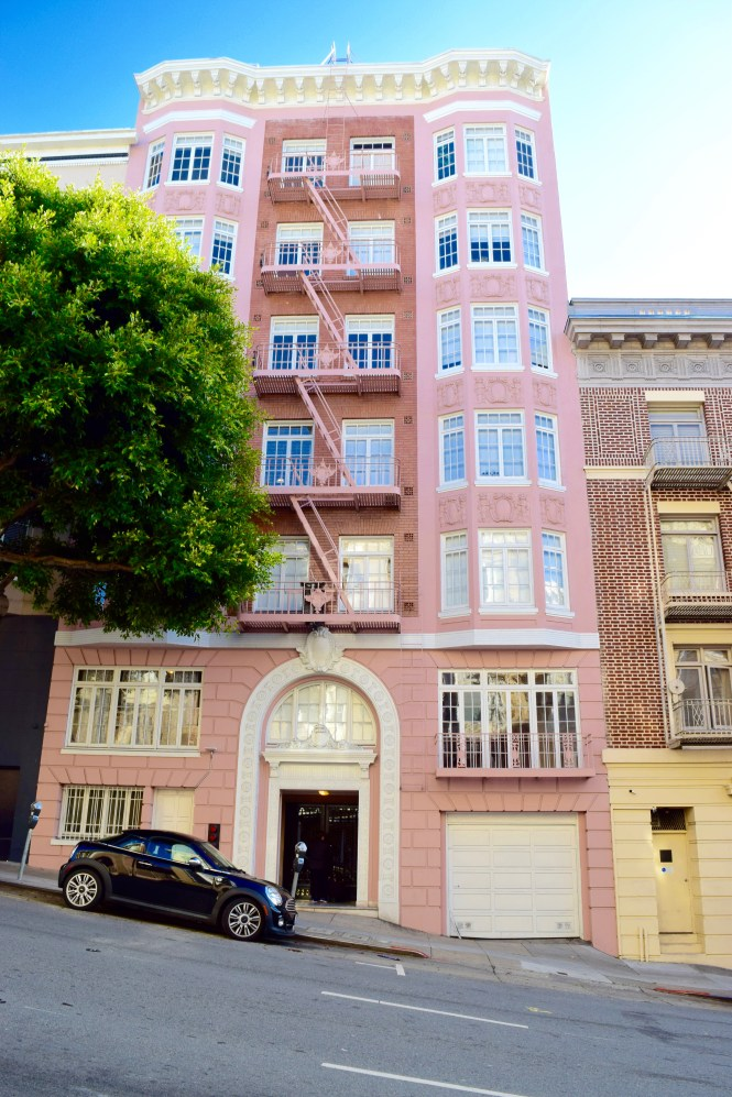 Pink Building in San Francisco