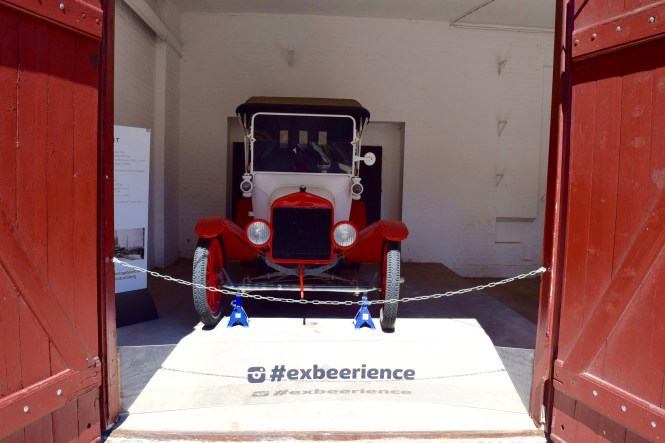 Carlsberg Antique Car