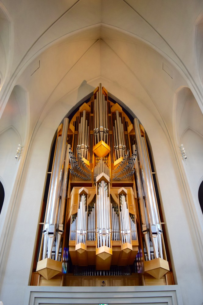 Organ in Hallgrimskirkja