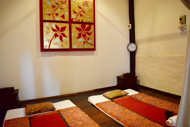 massage mats fah lanna spa