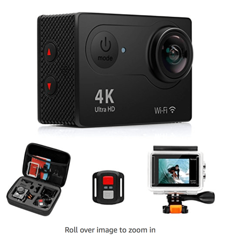 FITFORT ACTION CAMERA 4K (NYC Test Footage \u0026 Review)