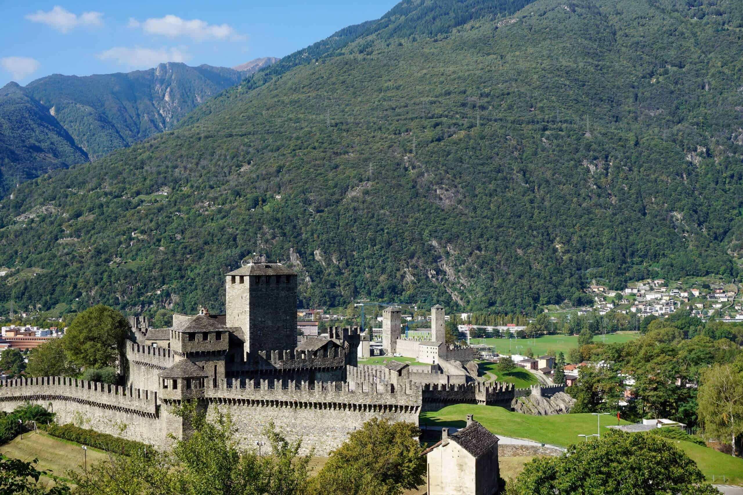 Castles of Bellinzona, Switzerland