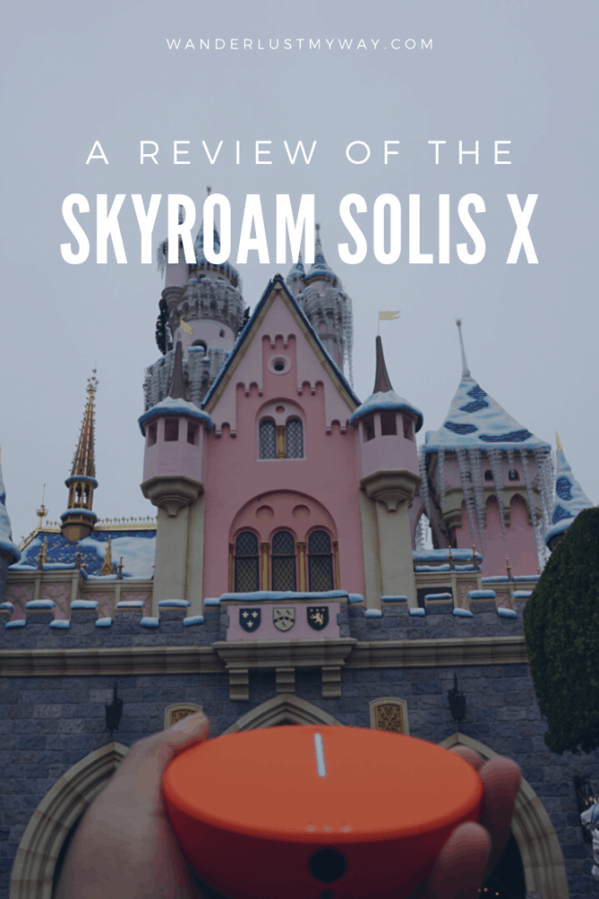 Skyroam Hotspot and Skyroam Solis X Review