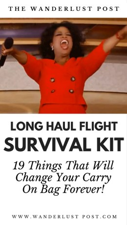Your Flight Survival Kit - 19 Things That Will Change Your Carry On Bag Forever