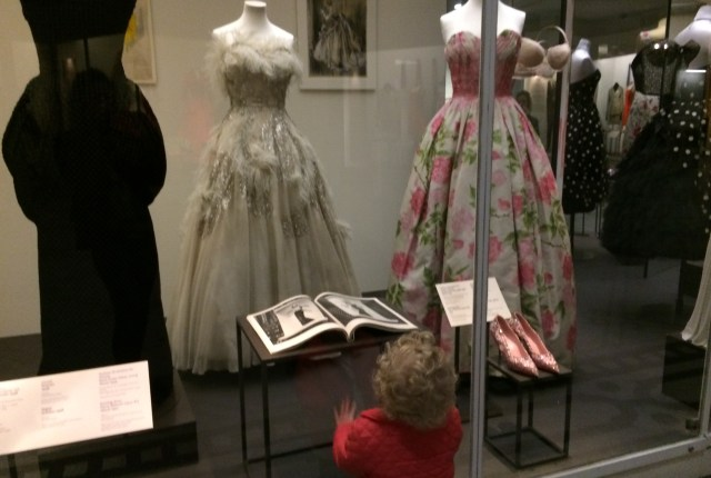 Victoria and Albert Museum Fashion display