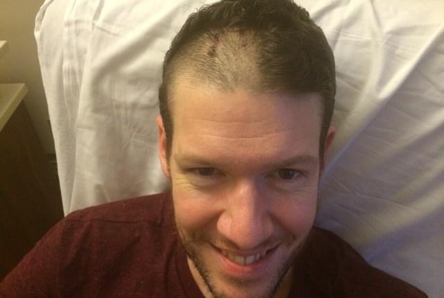 Wander dad in hospital