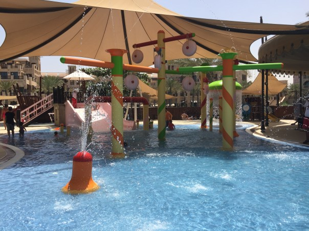 The waterpark at the Madinat Jumeriah, Dubai