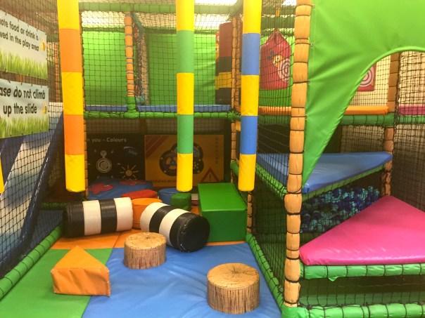Soft play at the Wyevale garden centre, Weybridge