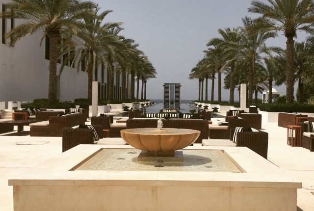 The 103m Pool, The Chedi, Muscat, Oman