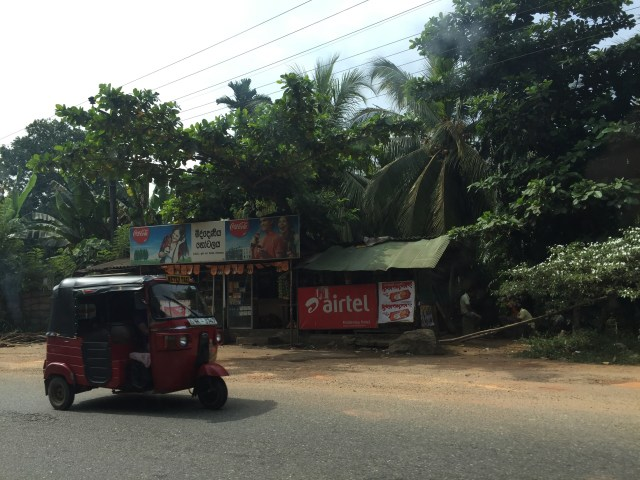 Roads in Sri Lanka