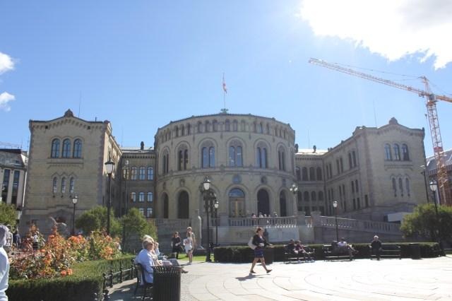 Parliament building Oslo