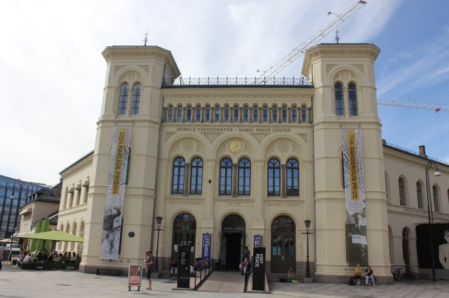 The Nobel Peace building