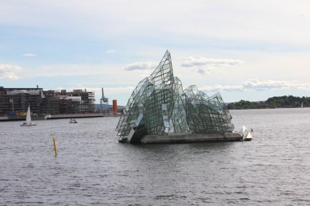 She Lies sculpture, Oslo