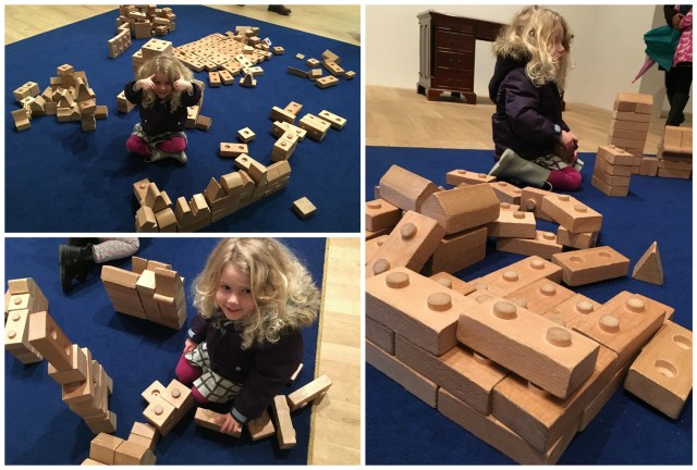 Building blocks at the Tate Modern
