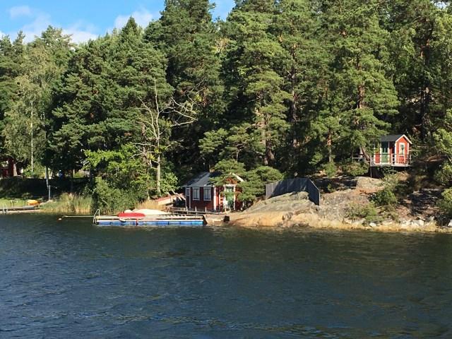 Boat tour in Stockholm, Sweden