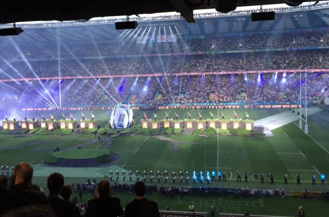 Rugby World Cup at Twickenham 2015