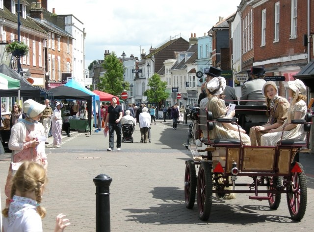 East Hampshire Jane Austen Regency Week