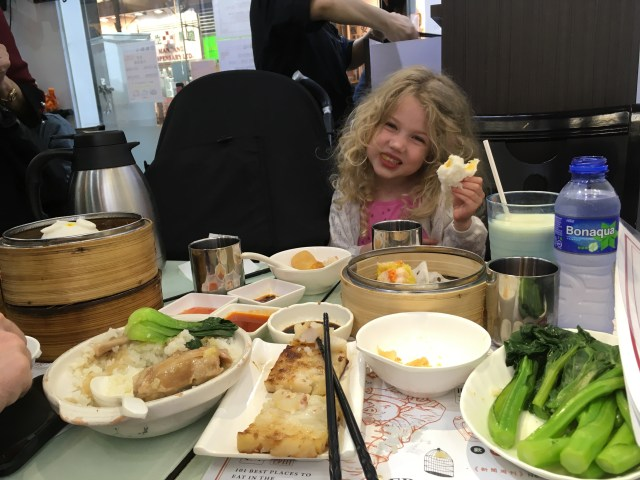 Food in Hong Kong with kids