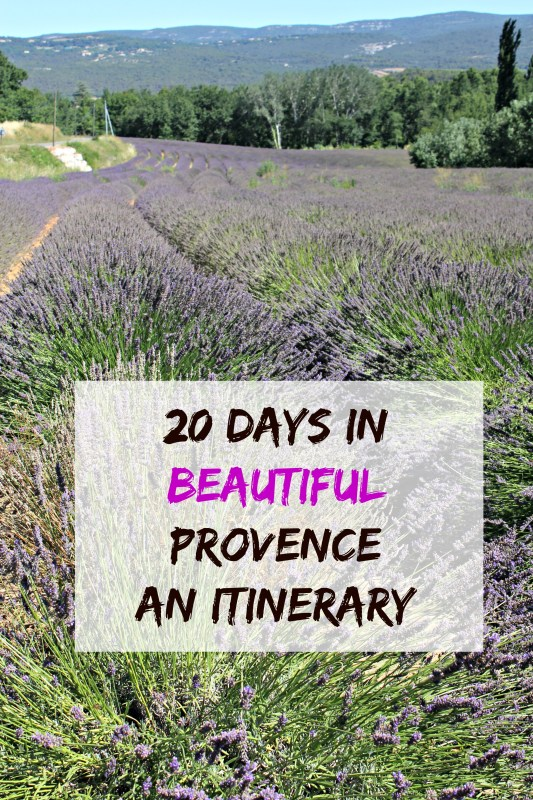 An itinerary of 20 days in and around Provence: What to see and do in the region with kids