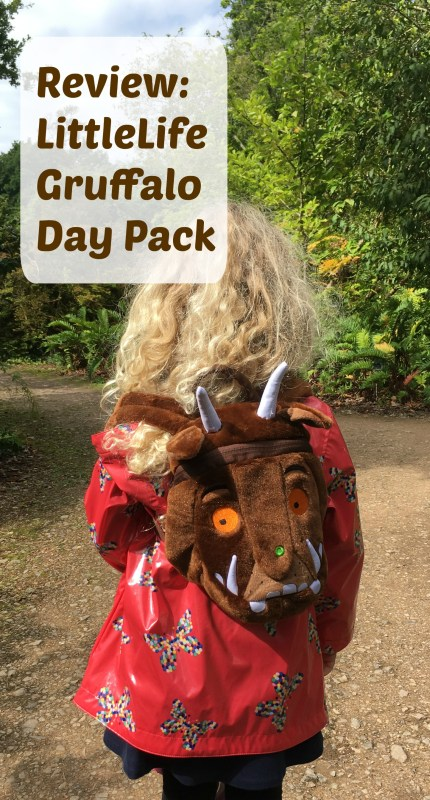 Review of the littleLife Gruffalo toddler day pack
