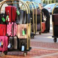 Keeping valuable safe on holiday: hotel luggage