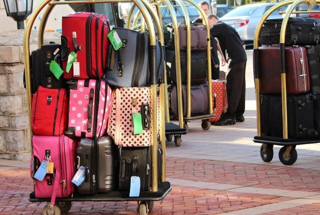 Keeping valuable safe on holiday: hotel luggage