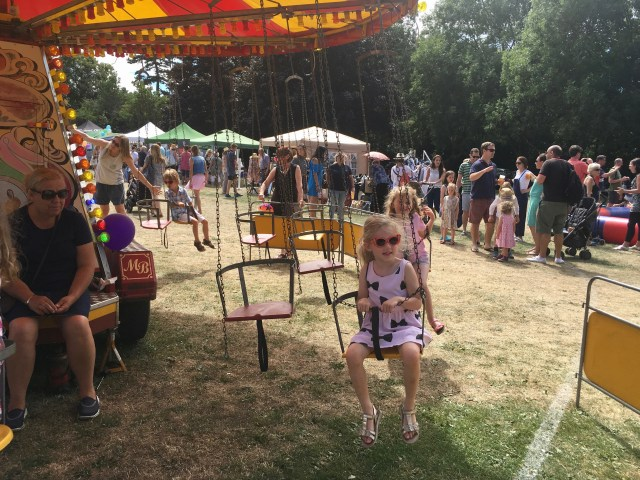 Mrs T at summer fair