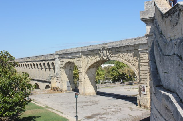 Saint-Clement Aqueduct, Montpellier, France