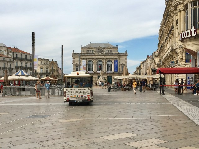 Place de la Comedie, Montpelllier, France