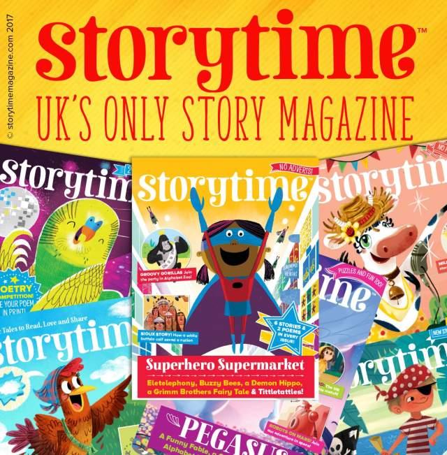 Storytime: UK's only story magazine