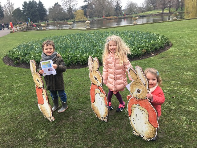 Peter Rabbit trail at Kew Gardens