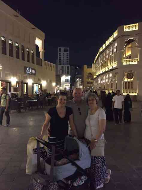 Souq Waqif at night