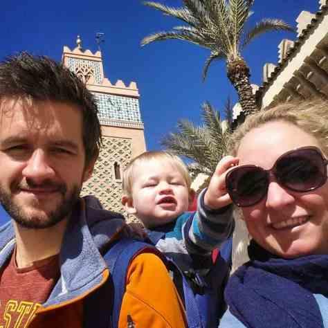 Marrakesh City Break with a baby