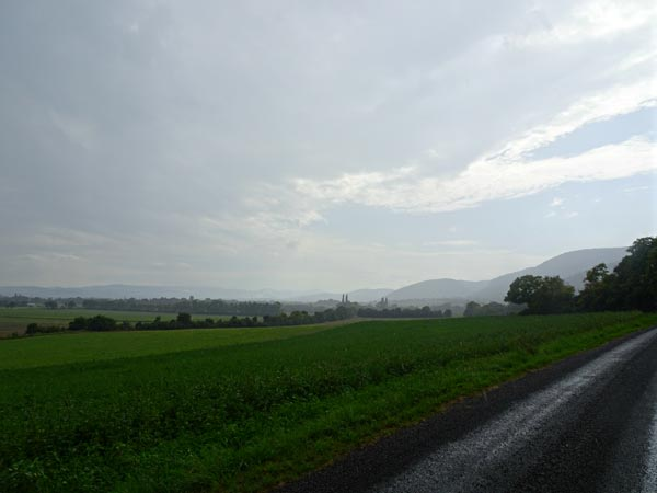 Auch bei Regen schön