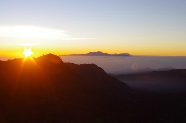 Sunrise at Mount Bromo